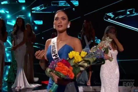 Miss Philippines élue Miss Univers après une énorme bourde en direct (vidéo). - soirmag.be