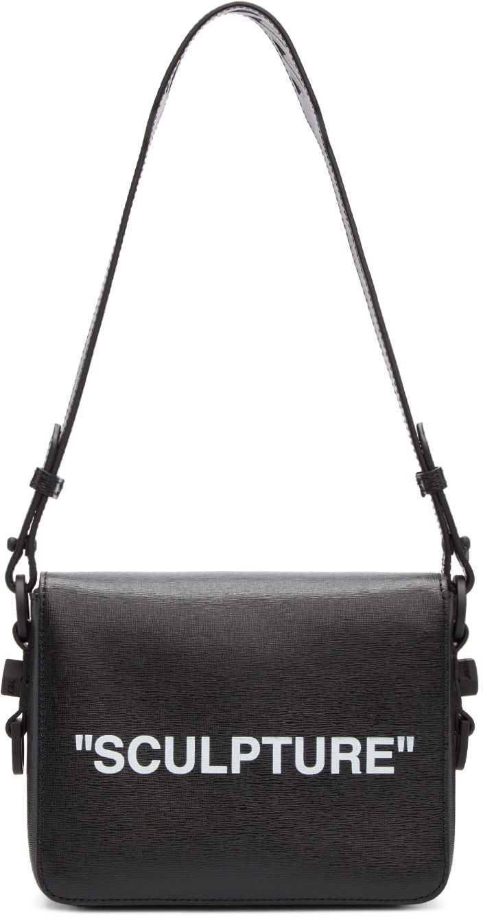 e3361b909978e3 Off-White - Black 'Sculpture' Binder Clip Bag | Bags | Binder clips ...