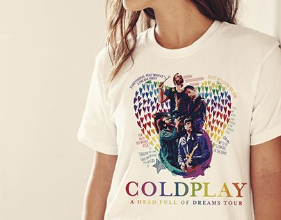 """Check out new work on my @Behance portfolio: """"Coldplay AHFOD Tour 