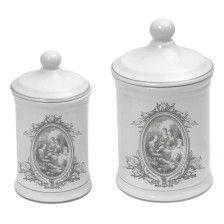 Mathilde M - Set of 2 cotton jars Bucolique