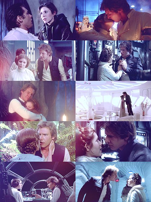 han solo and princess leia relationship