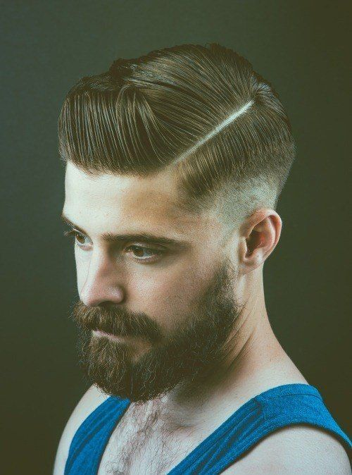 Smart and Cool hairstyles or men with beards (17)