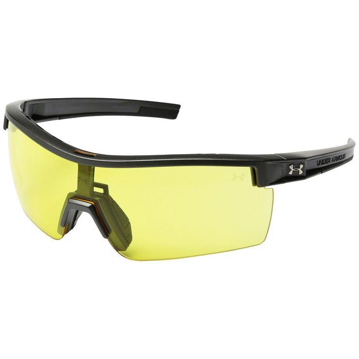 Under Armour UA Freedom Tactical Sunglasses Satin Carbon Frame Interchange Lens