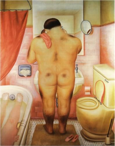 Tribute to Bonnard - Fernando Botero