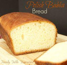 Polish Babka Bread {Celebrating Our Heritage Series} - Family Table Treasures