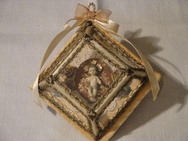 Registo miniatura com imagem do Menino Jesus Blogue http://registosreligiosos.wordpress.com