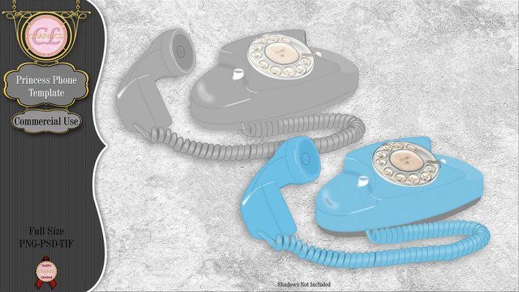 CLGraphics Princess Phone Template