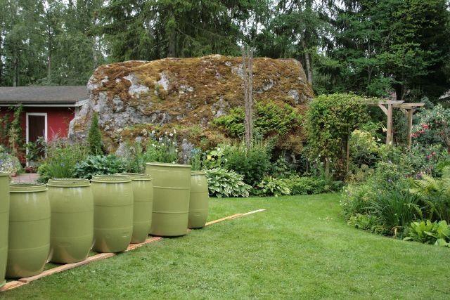 Snygga till vattentunnan – 14 idéer som lyfter trädgården | LAND.se