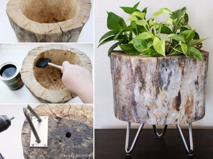 Les 25 meilleures idées de la catégorie Rondelles de bois sur ...