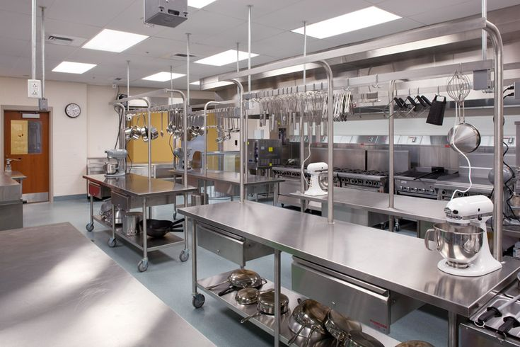 Commercial Teaching Kitchen Google Search Modern