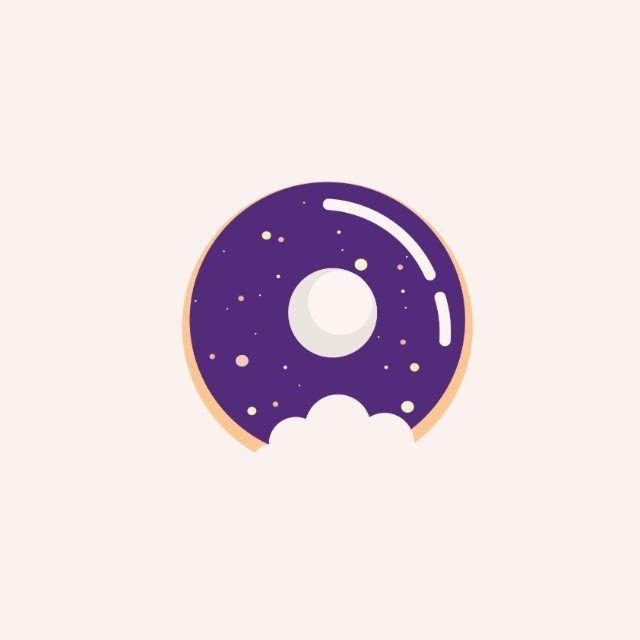 Donut in the space  #donut #donuts #sweet #sugar #usa #vector #flatdesign #creative #graphicdesign #graphic #design #creativity #draw #illustree #icondesign #breakfast #food #chocolate #mug #milk #coffeebreak #minimal #coffee #illustration #morning