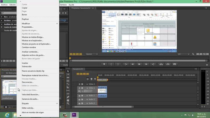 Como Convertir Audio a Texto Con Adobe Premiere Pro CS6