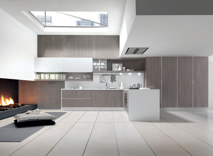17 best images about kitchen grey on pinterest fitted for Nice modern kitchens