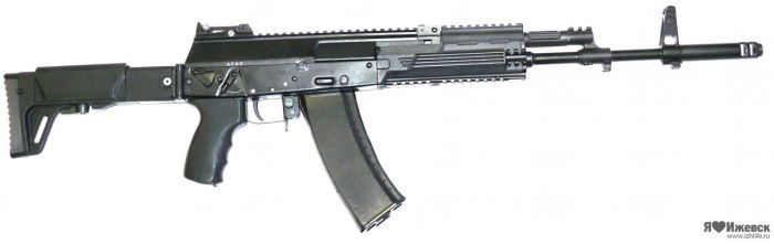 """Kalashnikov AK-12 assault rifle is a newest creation of the IZMASH factory. It is intended to replace in production older Kalashnikov AK-74M and AK-100-series.It was first displayed to press in January, 2012, and is believed to be still in development.  Kalashnikov AK-12 assault rifle is planned to be available in two versions – """"light"""" and """"heavy"""", with former adapted for cartridges like 5.45x39, 5.56x45, 6.5 Grendel  and 7,62x39, and the latter for more powerful cartridges like 7,62x51…"""