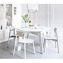 vtwonen Eettafel Grip Ø 130 cm - Wit
