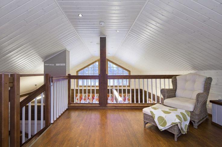 A l'intérieur d'une maison finlandaise en bois d'Ikihirsi on trouve le comfort et la modernité. Réalisez votre rêve avec une maison en provenance de la Finlande.