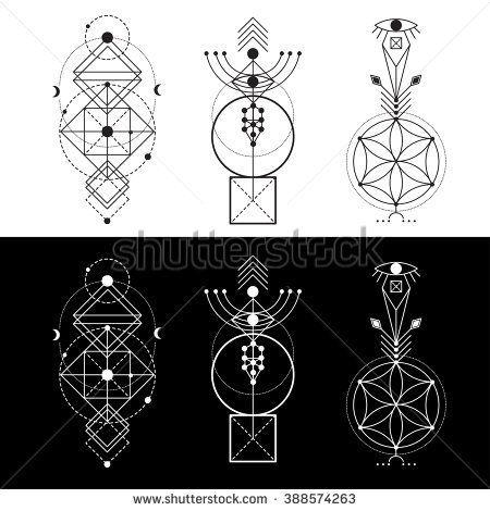 Tatto Ideas 2017  Mistico Vectores en stock y...