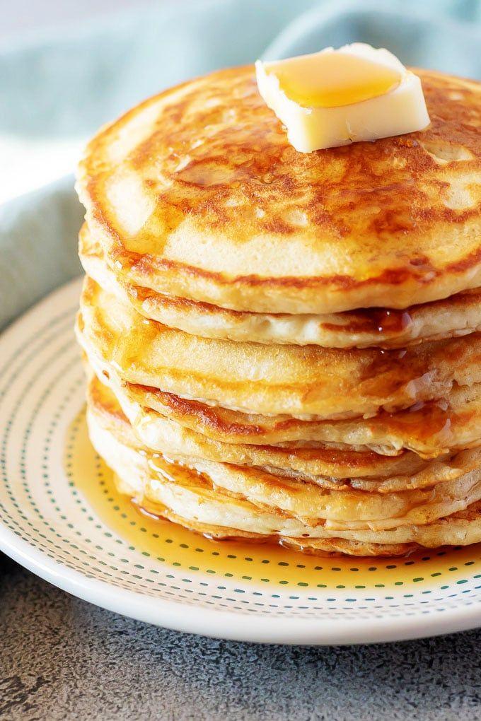 Fluffy American Pancakes Recipe American Pancakes Best Pancake Recipe Homemade Pancakes