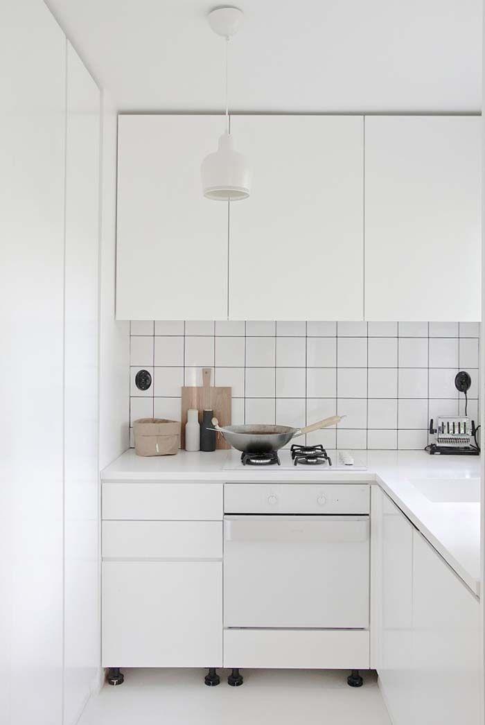 Cozinha pequena branca Interior ideas in 2018 Pinterest Micro
