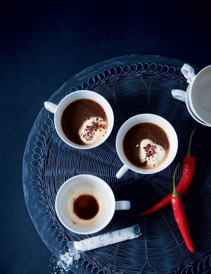 Chili-suklaaespresso   Reseptit