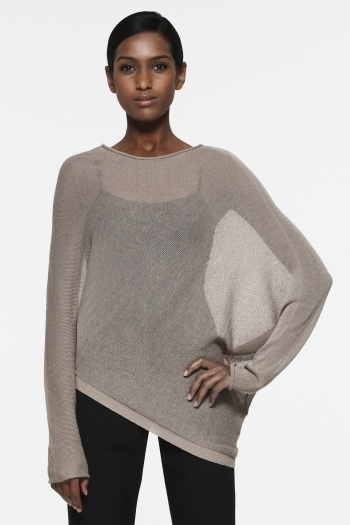 Karlie Assymmetrical Sweater Top (BCBG Max Azria)