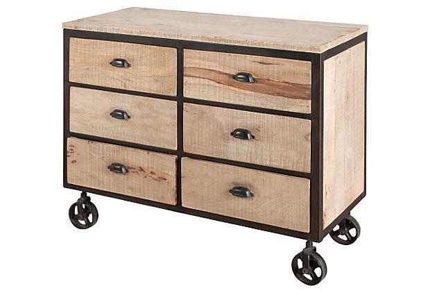 "Dalhouise 6-Drawer Dresser 43""W x 19""D x 36""H ($1,420.00)  $799.00 OneKingsLane.com"