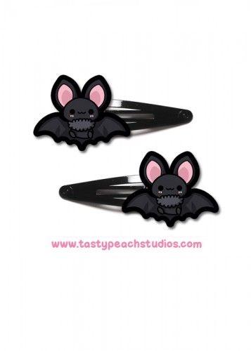 Baby Bat Hair Clips from Tasty Peach Studios