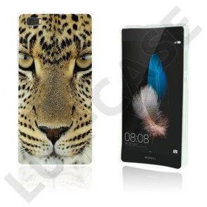 Westergaard Huawei Ascend P8 Lite Cover - Leopard Hoved