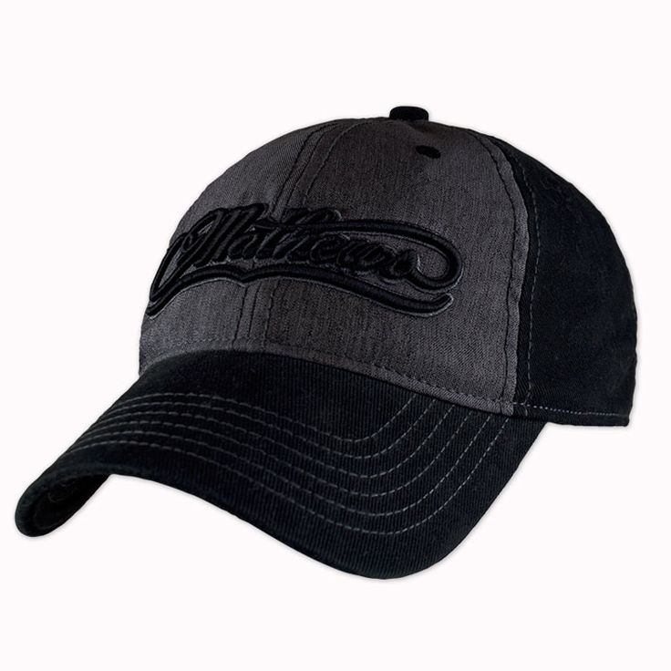 Mathews Coal Fitted Cap :: Mathews Hats :: Eagle Archery LLC