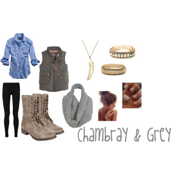 http://lookbook0818.blogspot.com/ #grey chambray .  infinity scarf . steve madden . boots . fall . fall outfit . leggings outfit . casual oufit . gold bracelets. bauble bar .xomrsmeasom xo mrs measom
