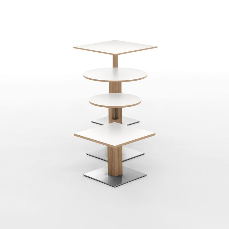 #Duetto and #Bistro. #design #designlovers #tables #smalltables #wood #wooden #white #tavolini #designlove #littletables #lovely #designers #designlove