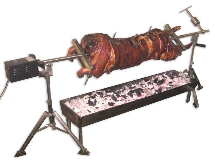 Spit Roasting Equipment Hog Roaster Mum Amp Dad S 50th