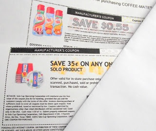 Manufacturer websites with coupons