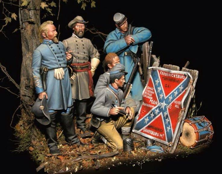 Painting the Regimental Colors with the latest battle honors...