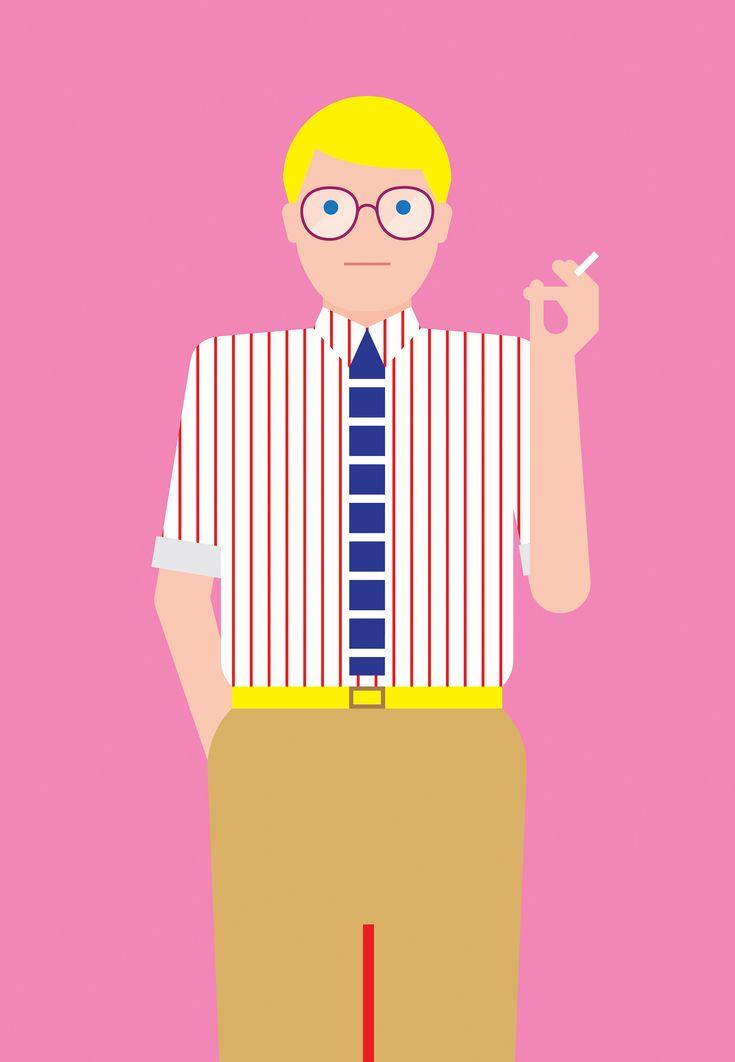 David Hockney by Craig & Karl | Agent Pekka