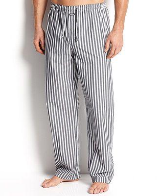 Calvin Klein Men's Sleepwear, Key Item Pant U1726 - Pajamas, Robes & Slippers - Men - Macy's