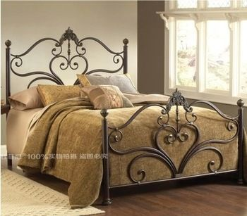 Superior Wrought Iron Beds Retro Iron Bed 1.5 M 1.8 M Retro Royal Continental Iron  Bed Double Great Ideas