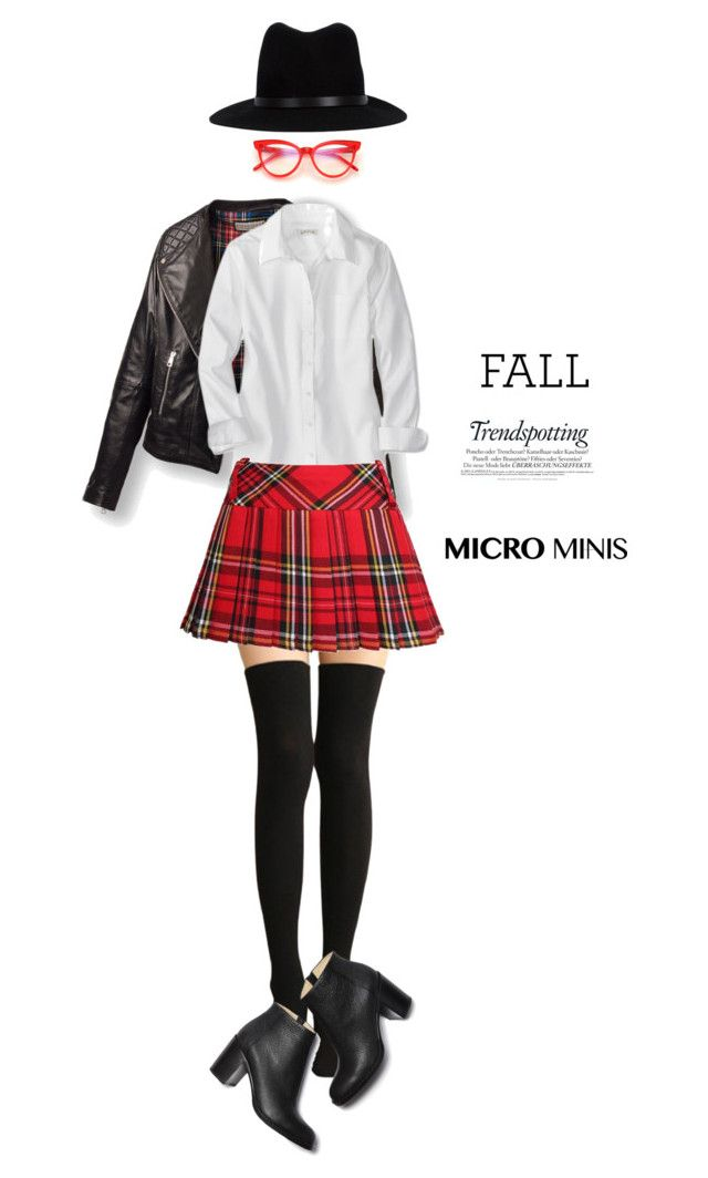"""""""Fall trend; micro mini"""" by lilieshomeandgarden ❤ liked on Polyvore featuring Wildfox, rag & bone, Paul Andrew, Melissa, falltrend and microminis"""