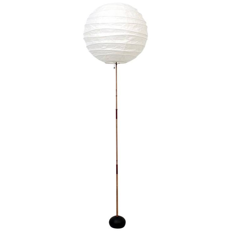 Early Isamu Noguchi Floor Lamp | Floor lamp, Lamp, Isamu ...