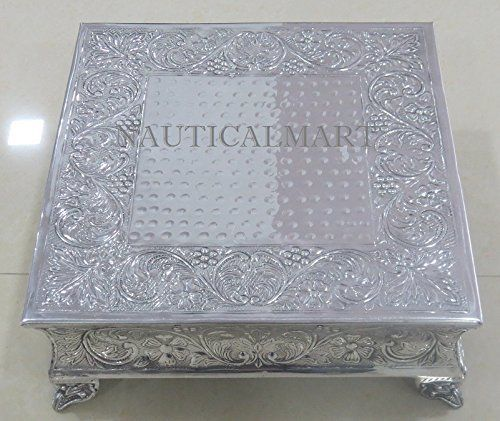 Nauticalmart Beautiful Silver Finish Wedding Cake Stand N... https://www.amazon.co.uk/dp/B01IKLAGJ0/ref=cm_sw_r_pi_dp_x_oCD6zbAZ58EDZ