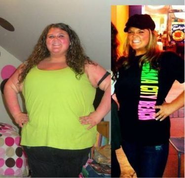 Very inspiring story.  Before and After Weight Loss Photo