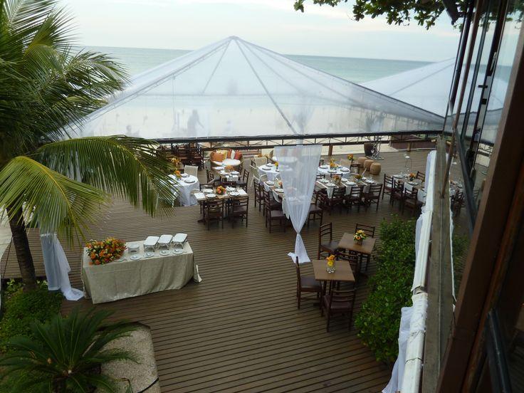Wedding sulla #spiaggia: incantevole! #Brasil #LerianSrl
