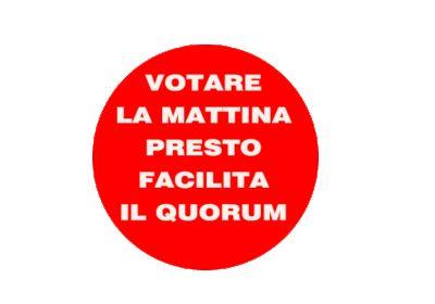 """M5S Europa su Twitter: """"Se voti al mattino presto, il tuo voto vale il doppio: https://t.co/YRGoHskPn1 #iovotosi…"""