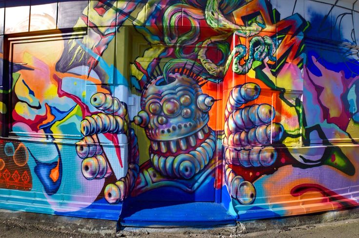 Graffiti in Slussen-Sweden. Photo: T.Paulzon