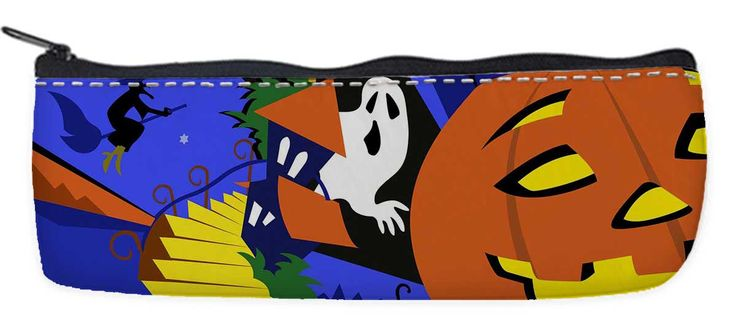 Nylon Oxford Pen Bag Pencil Case Pouch Holder with Zipper -Happy Halloween Theme http://www.amazon.com/dp/B015Q3PMD0
