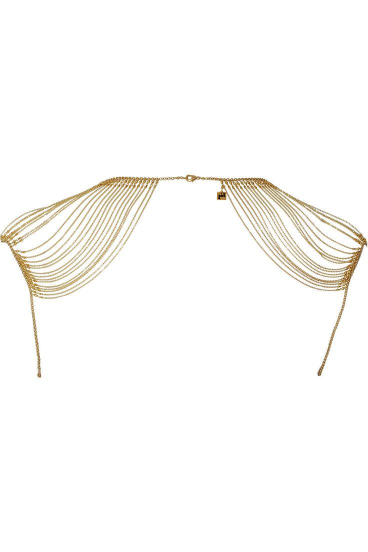 Rosantica|Millenote gold-tone necklace|NET-A-PORTER.COM