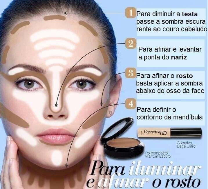 maquiagem transformadora passo a passo