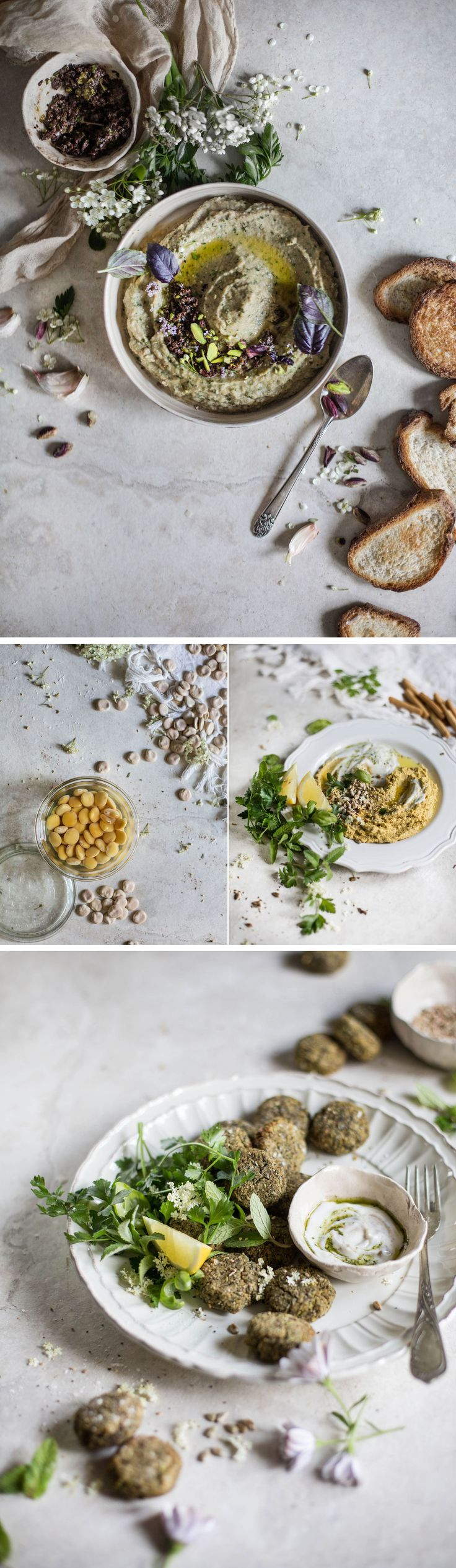 3 Quick, Healthy & Vegan Recipes with Lupini Beans (or Chickpeas)