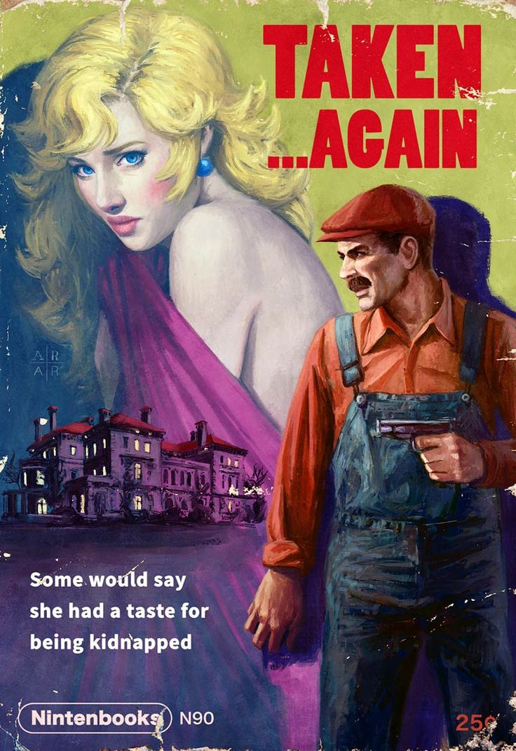 PULP – Famous video games transformed into vintage pulp magazines (image)