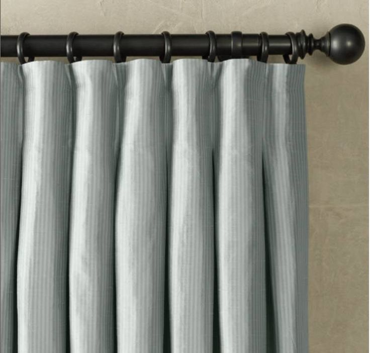 17 best drapery ideas on pinterest curtain ideas sewing for Restoration hardware silk curtains
